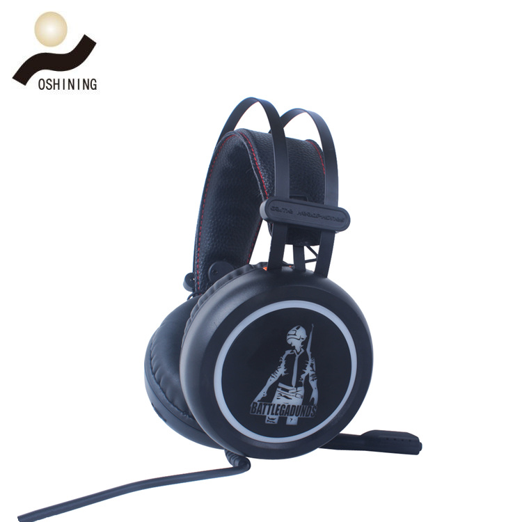 Wired Gaming Headphone(OS-V6+LED +RGB Light)
