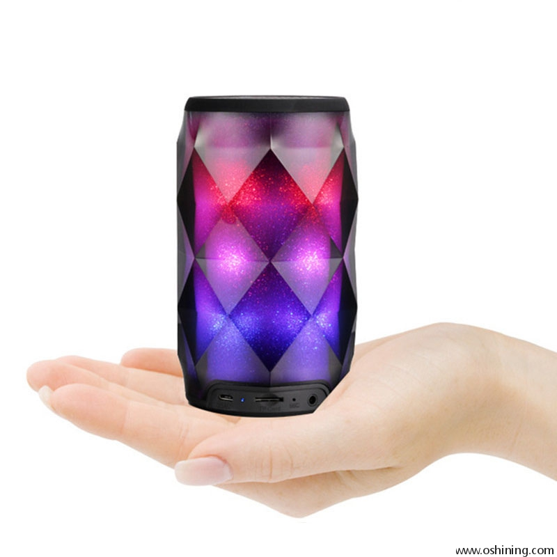 Portable LED Music Bluetooths Wireless Speakers