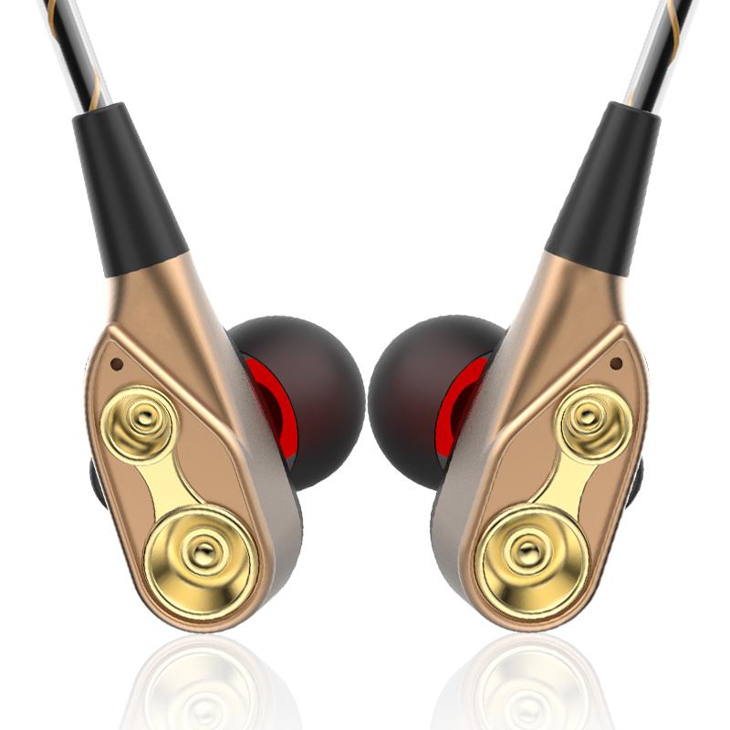 Double dynamic wireless earphone(OS-XT21)