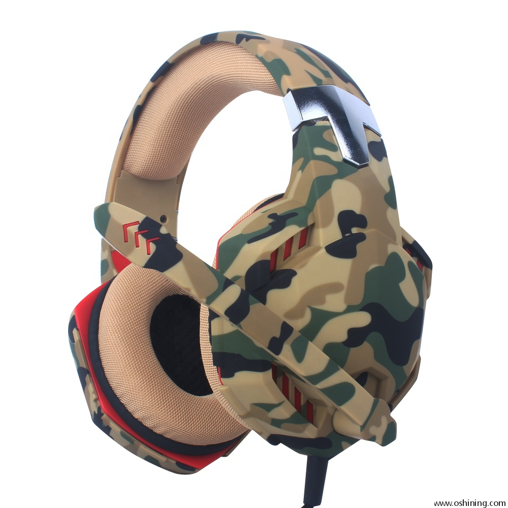 50mm G2000 Army Game Headphone Headset