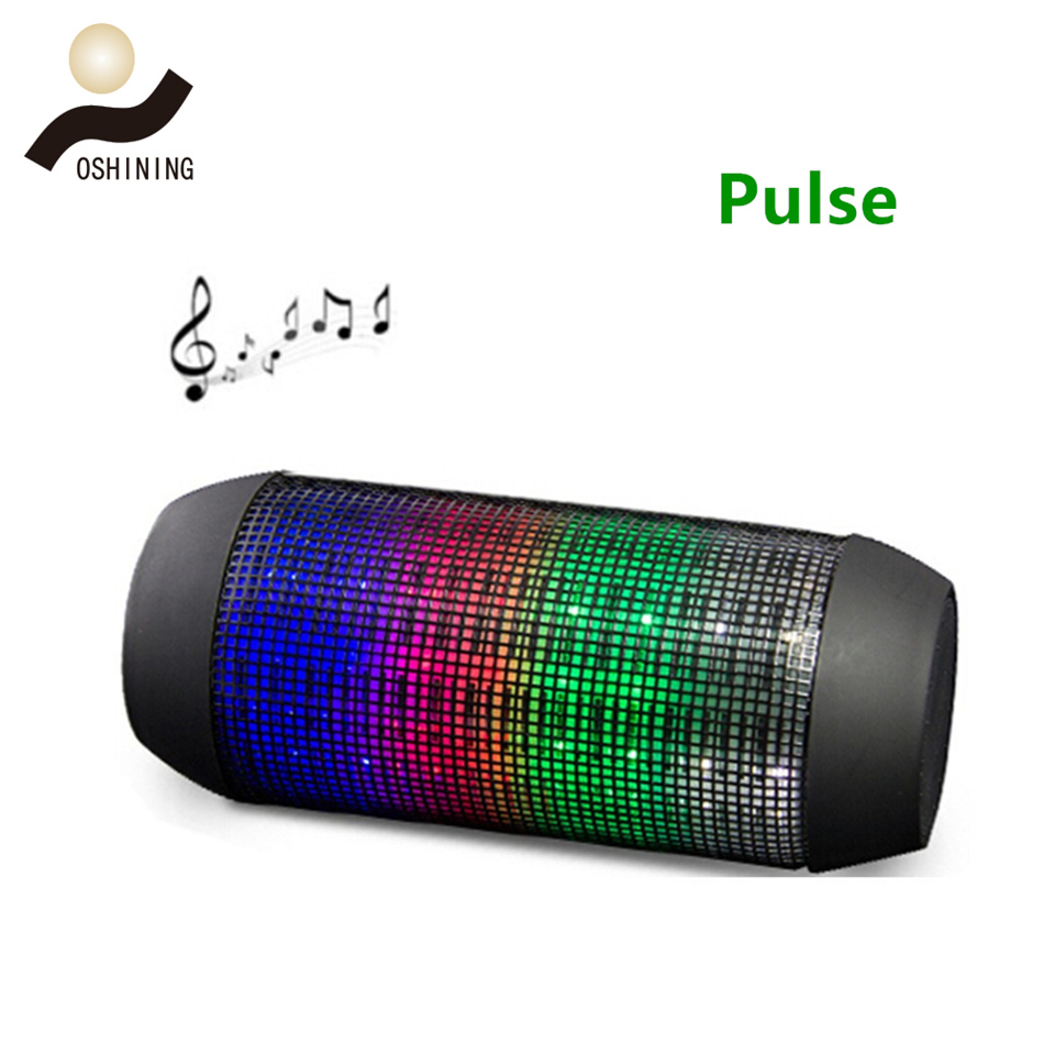 Wireless Colorful LED Speaker (OS-S024BL)