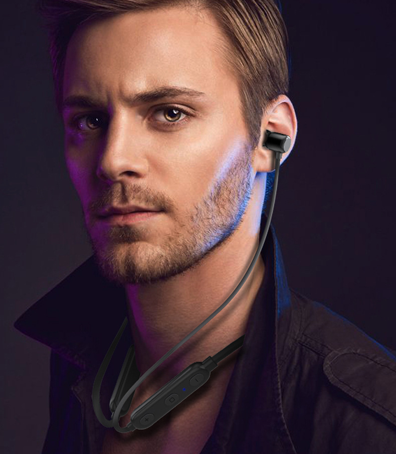Magnetic hall switch sports earphone(OS-W8)