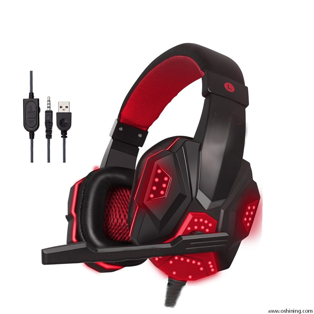 PS4 LED Gaming Headphone Headsets