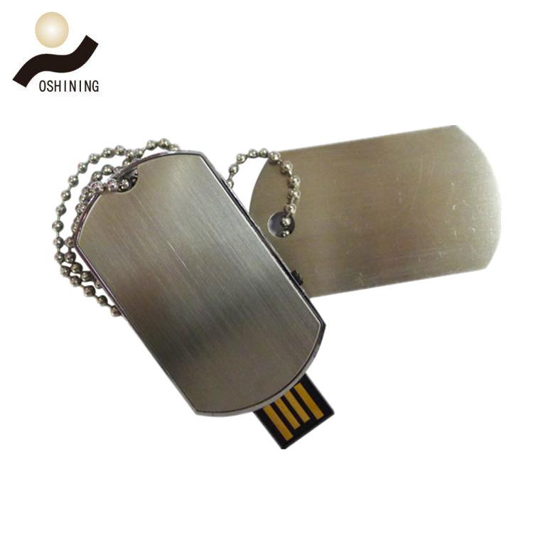 Dog Tag USB Flash Drive (USB-MT414)